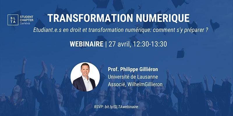 Etudiant.e.s en droit et transformation numérique: comment s'y préparer ?